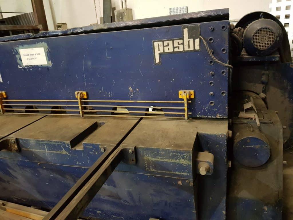 Cizalla Pasbi 2000x6mm