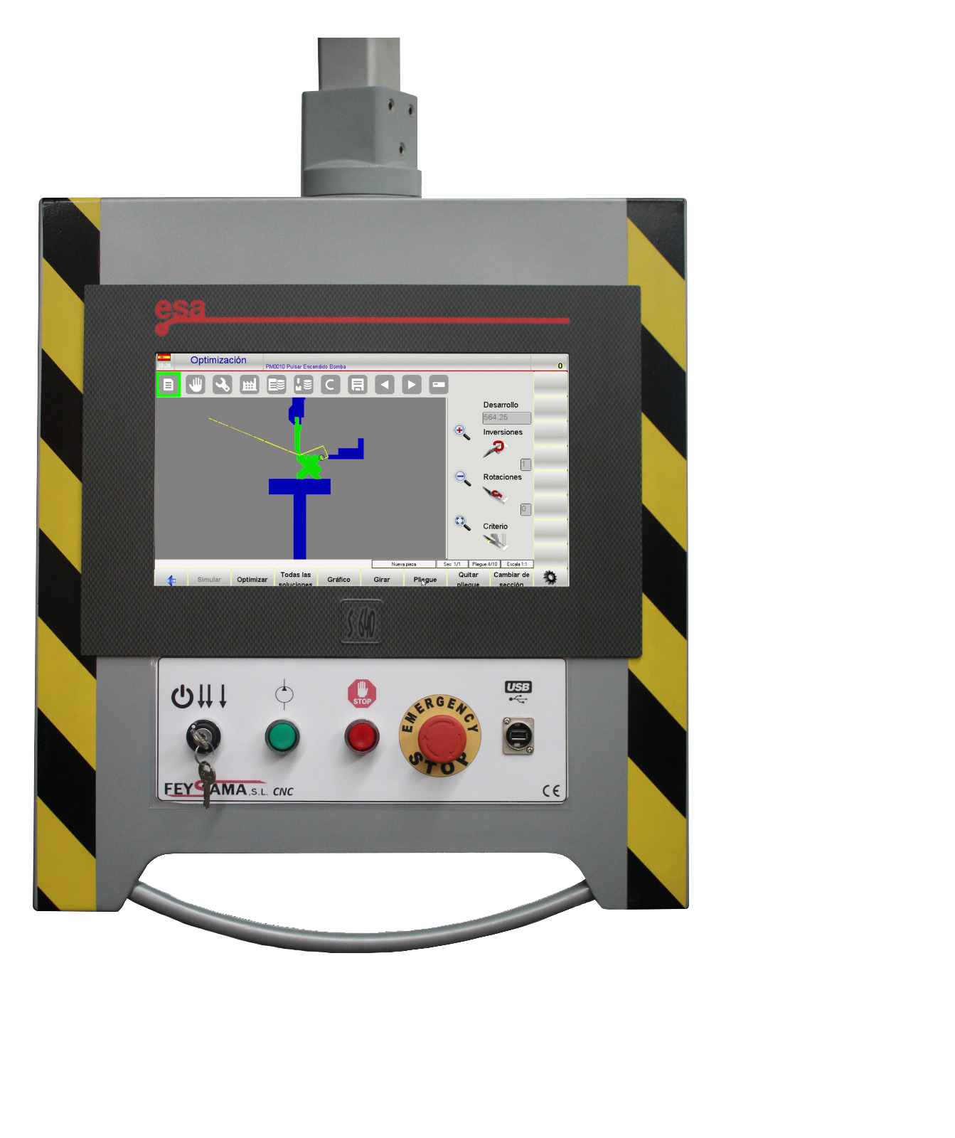 CNC Control numérico s640
