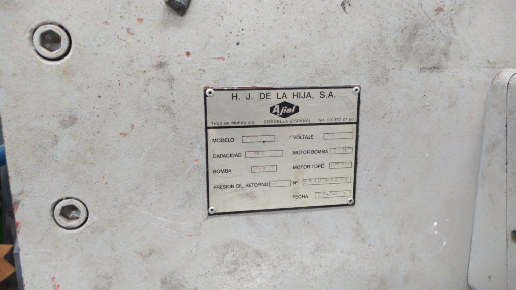 Cizalla Ajial 3000x10mm