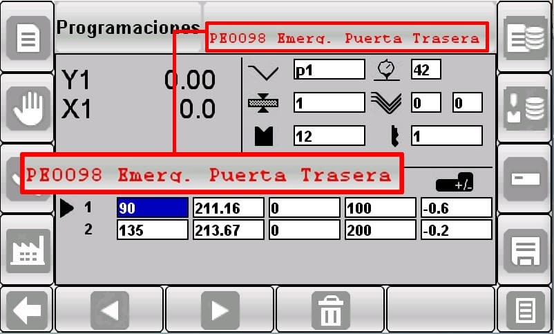 CNC Control numérico s625